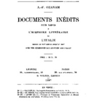 Ozanam, Frédéric, Documents inedits.pdf